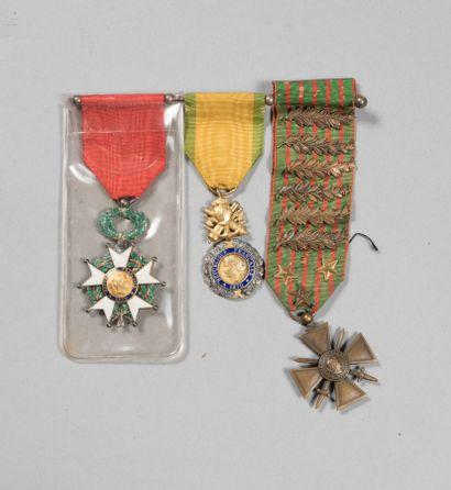AS 1° Guerre mondiale. Croix de guerre 1914/1915...