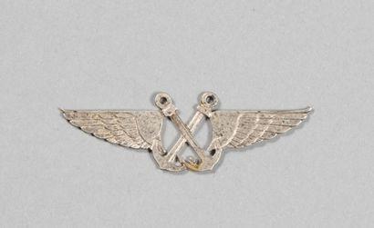 SAL51. Escadrille de chasse, insigne métal...