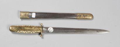 Dague, Chine impériale, d'apparat ou militaire,...