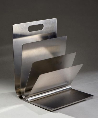 Porte-revues en feuilles d'acier inoxydable...