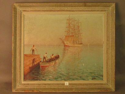 Claude CHAVIGNAC, peintre de l'école lyonnaise...