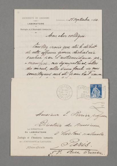Henri Blanc (1859-1930), zoologiste suisse,...