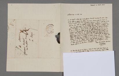 Antoine-Laurent de Jussieu (1748-1836), botaniste....