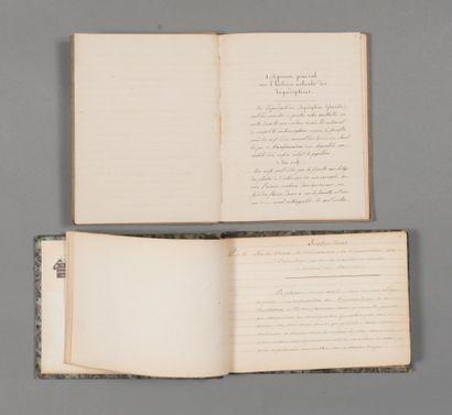 Papillons & chenilles. Manuscrit. 1845. 368...
