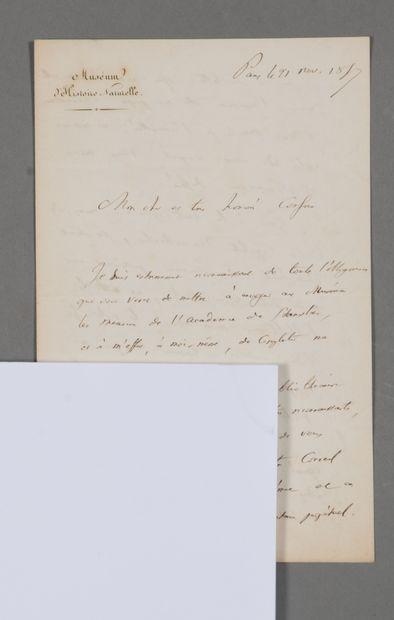 Isidore Geoffroy Saint-Hilaire (1805-1861),...