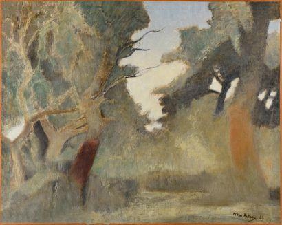 Pierre PELLOUX (1903-1975)  Tossa de Mare,...
