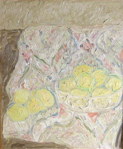 Simone Gambus (1928-2015)  Nature morte aux...