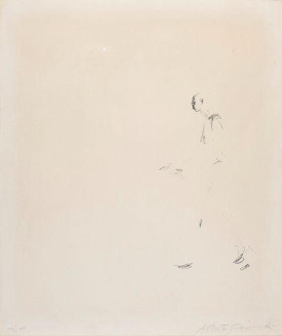 Alberto GIACOMETTI (1901-1966).  L'homme...