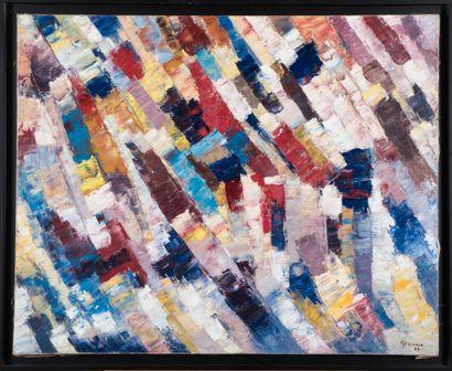 Jacques GERMAIN (1915-2001).  Composition,...