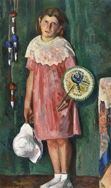 Jean Couty (1907-1991)  La fillette, 1940...
