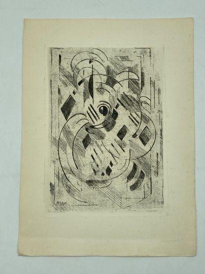 Albert Gleizes (1881-1953).  Pour la Méditation,...