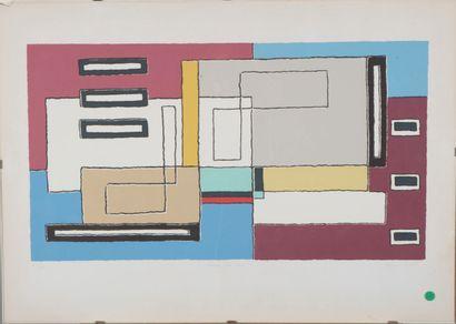 Mario RADICE (1898-1987).  Como, 1933/1934....