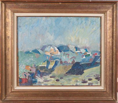 Alfred Reth (1884-1966).  Paysage, 1964....