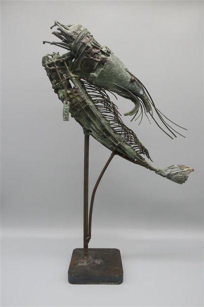 Stéphane Mérel (né en 1967).  Crevette n°8,...