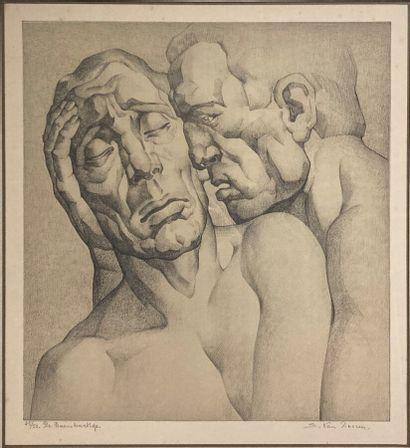 Edmond Van Dooren (1896-1965).  Les deux...