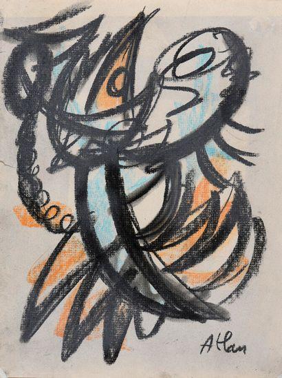 Jean-Michel ATLAN (1913-1960).  Composition...