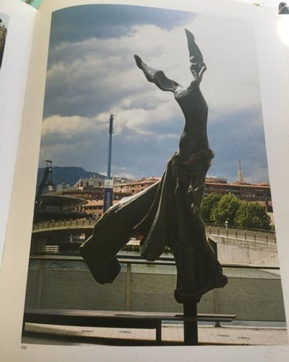 Salvador Dali (1904-1989).  Terpsichore, Muse de la danse, vers 1971.  Bronze à...