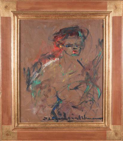 Elemer VAGH-WEINMANN (1906-1990).  Tahitienne....