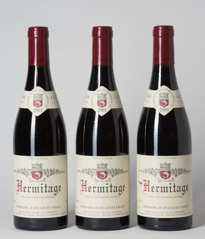 3 B HERMITAGE Rouge (1 e.a.) Jean-Louis Chave...