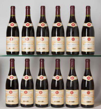 12 B CHÂTEAUNEUF DU PAPE Rouge (2 e.l.a;...