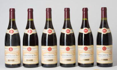 6 B CHÂTEAUNEUF DU PAPE Rouge (2 e.l.a; 1...