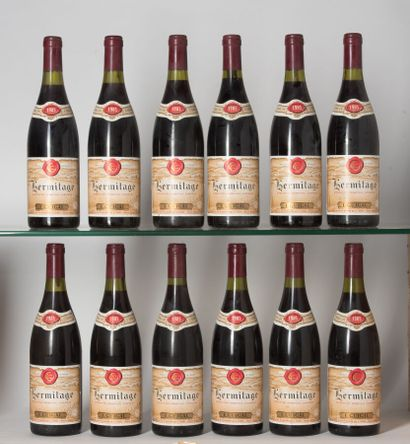 12 B HERMITAGE Rouge (5 e.l.a.) Guigal 1...