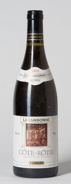 1 B CÔTE-RÔTIE LA LANDONNE (e.t.h. légères)...