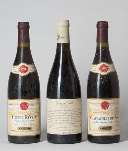 1 B CÔTE-RÔTIE (e.l.a.) Guigal 1998  1 B...
