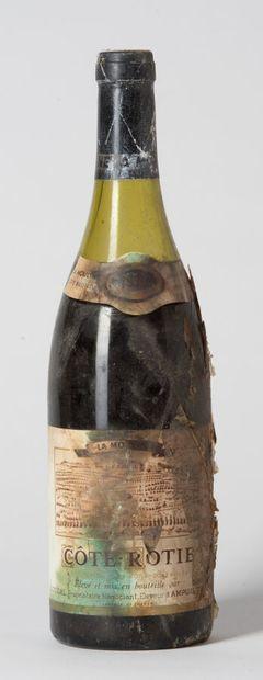 1 B CÔTE-RÔTIE LA MOULINE (4 cm; e.t.h. fortes...