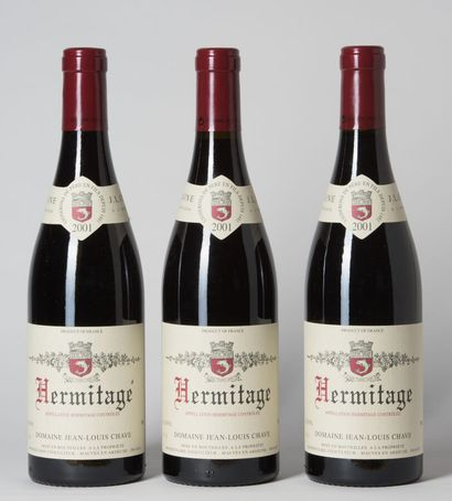 3 B HERMITAGE Rouge Jean-Louis Chave 200...