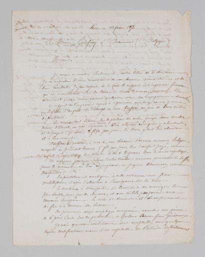 Alcide d'ORBIGNY (1802-1857), naturaliste,...