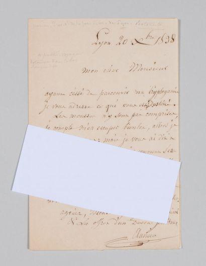 Jean Just Noël Antoine AUNIER (1784-1859),...