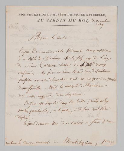 Étienne GEOFFROY SAINT-HILAIRE (1772-1844),...