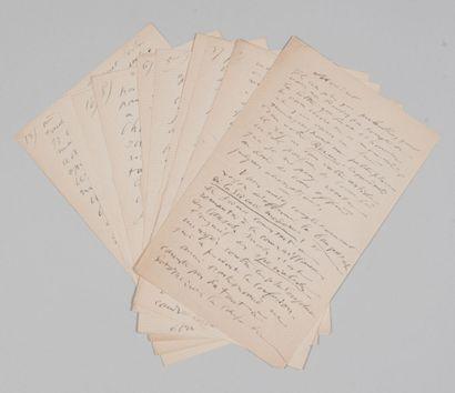 [DARWINISME]. Wilfrid de FONVIELLE (1824-1914),...