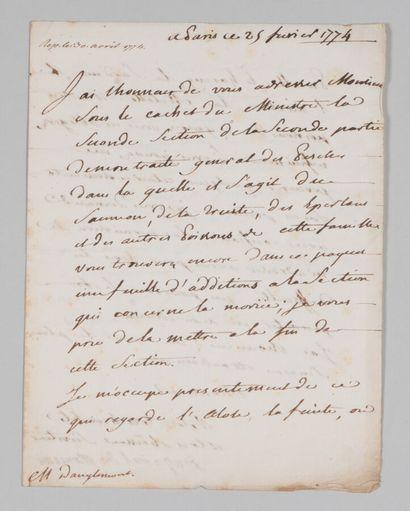 Henri Louis DUHAMEL DU MONCEAU (1700-1782),...