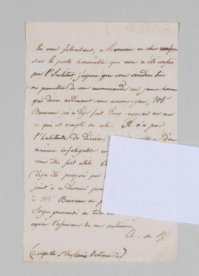 Auguste de SAINT-HILAIRE (1779-1853), botaniste...