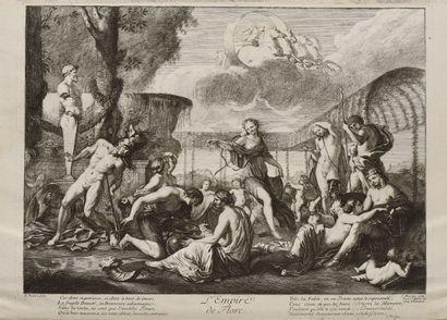 Jean MOYREAU (1691-1762)  L'Empire de Flore...