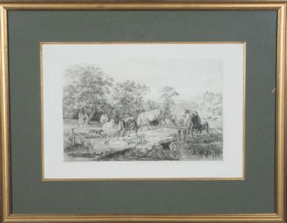 Jean-Antoine DUCLAUX (1783-1868)  Lot d'environ...