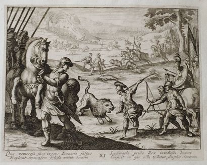 D'après Antonio TEMPESTA (1555 - 1630)  Alexandri...