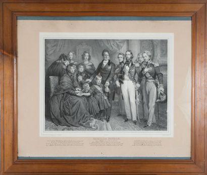 Antoine MAURIN (1793-1860)  Le roi Louis...