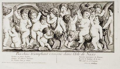 Charles EISEN (1720-1778)  Bacchus triomphant...