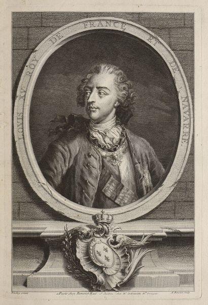 Ecole française du XVIIIe siècle  Louis XV...
