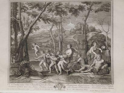 D'après Nicolas POUSSIN (1594-1665)  Armide...