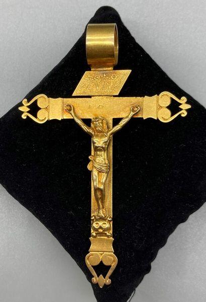 Croix de Lorraine ou Croix d'Abbesse ancienne...