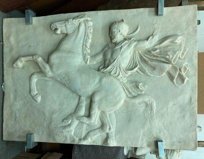 Sculpture à l'imitation des bas-reliefs antiques....