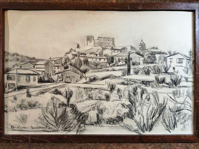 Ecole moderne, Vuis-Dussort, village Méridional....