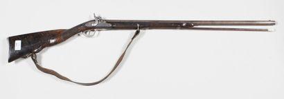 Petit fusil à un coup, canon octogonal puis...