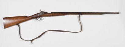 Fusil de chasse à deux canons à chiens, sans...