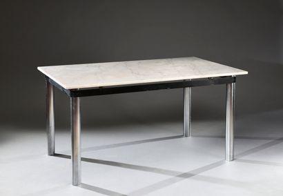 Table bureau dans le goût de Marco Zanuso...