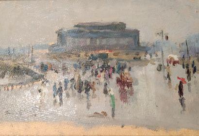 Youri Panine (né en 1921).  Tarto, le marché...